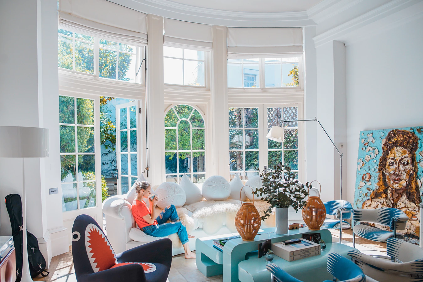 Amenajari interioare case si vile in stil mediteranean-  6 imagini care iti taie rasuflarea!