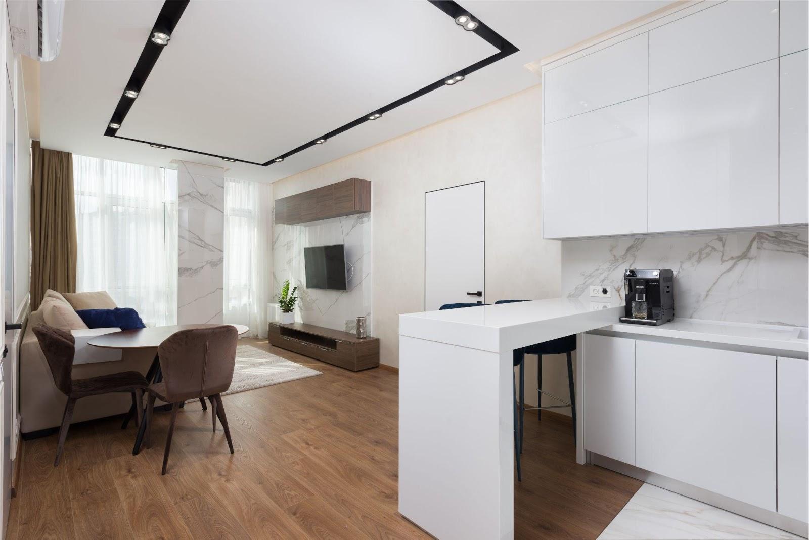 Idei de amenajare a unui apartament simplu si modern