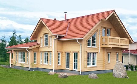 Lemnul lamelar: Un alt mod de a construi o casa