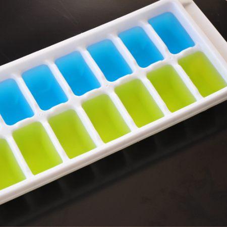 Cuburi de gheata colorate