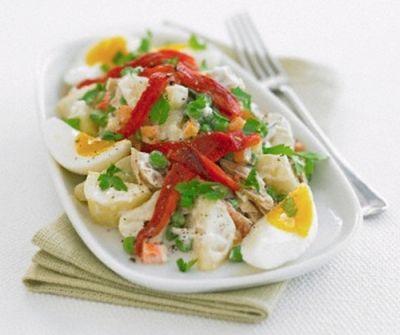 Salata de cartofi cu muraturi