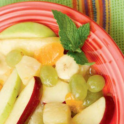 Salata cu fructe de iarna