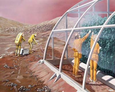 Americanii vor sa construiasca sere pe Marte