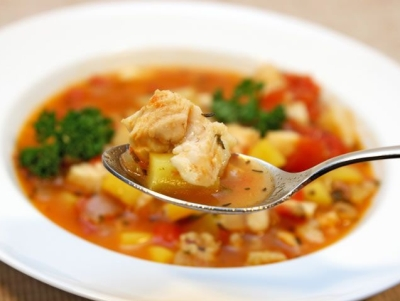 Supa de peste cu cimbru